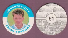 Coventry City Brian Borrows